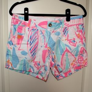 Lilly Pulitzer Callahan Shorts in Out To Sea